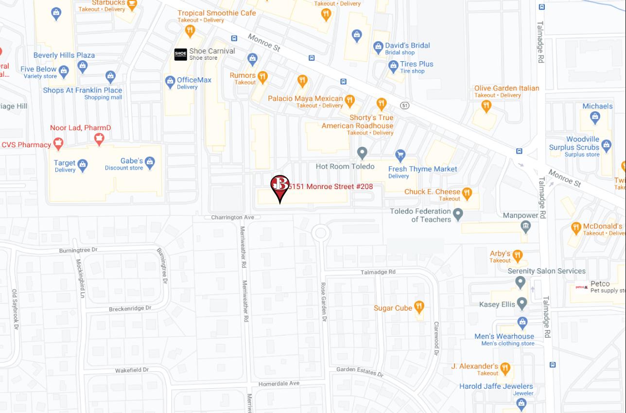 Toledo-Office-map